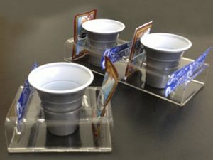 Plexiglas coffee holder
