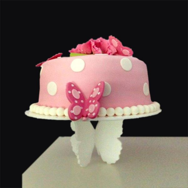 Plexiglas cake stand