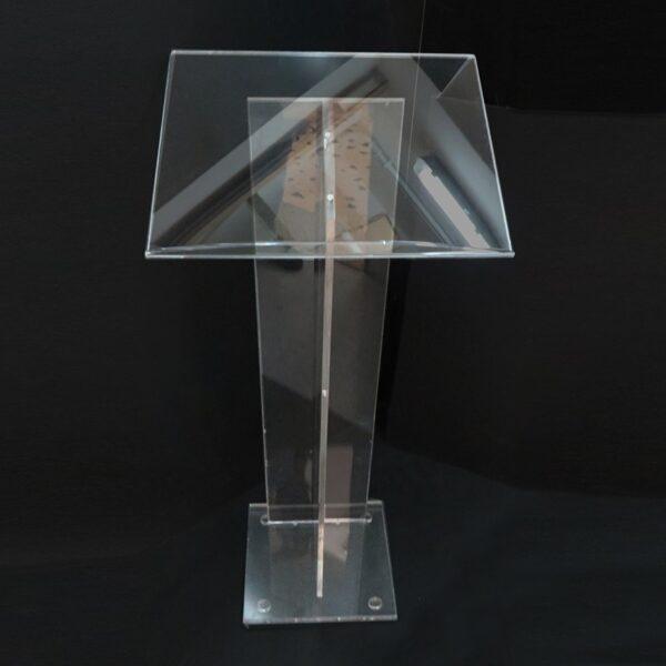PODIO ORATORE Pulpito in plexiglass