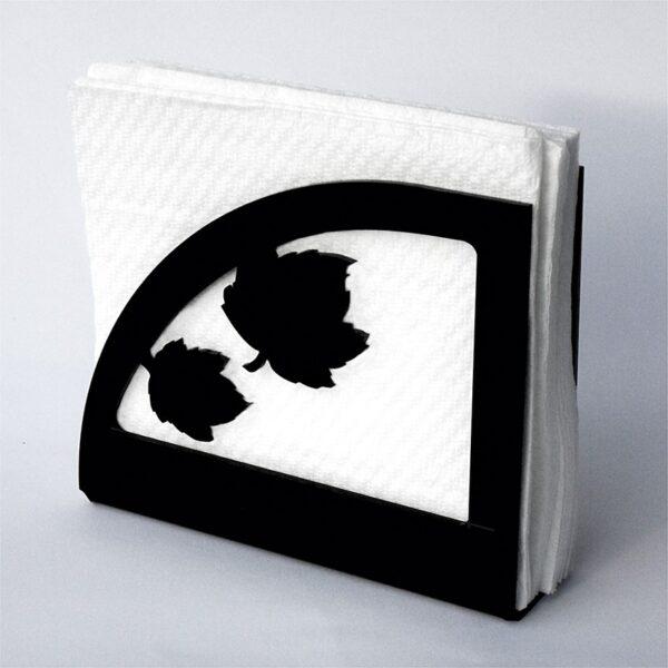 Portatovaglioli in plexiglass modello Foglia