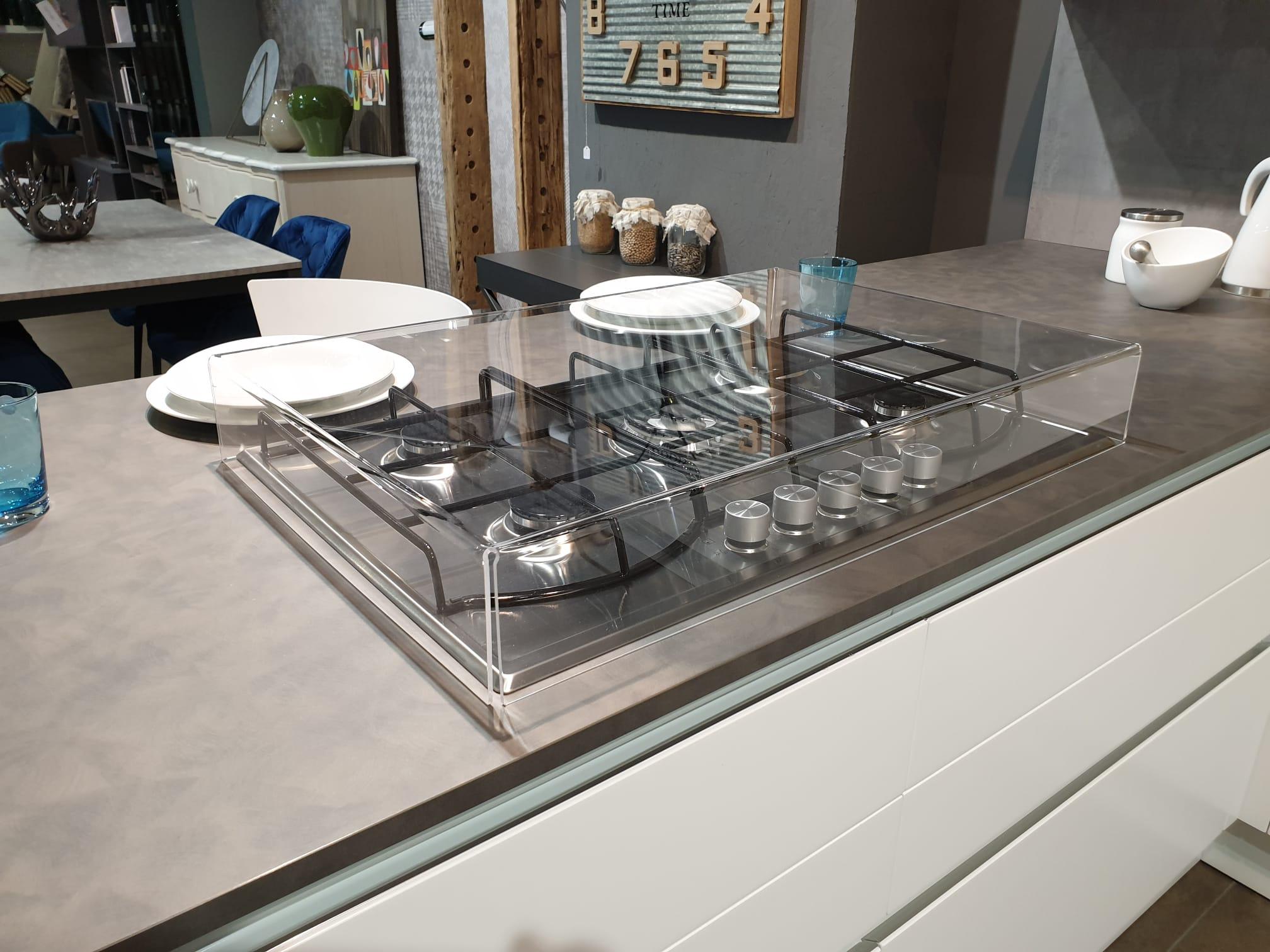 Misure Standard Piano Cottura Cucina coprifuochi in plexiglas trasparente o colorato