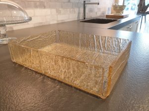 Ice Gold Plexiglas tray