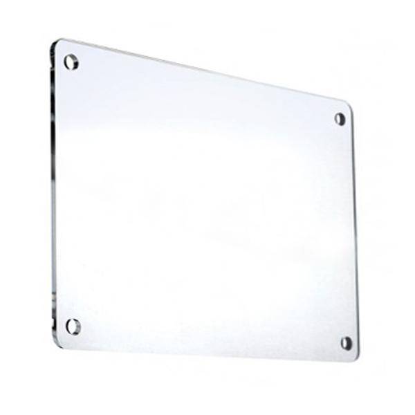 Targa in plexiglass rettangolare